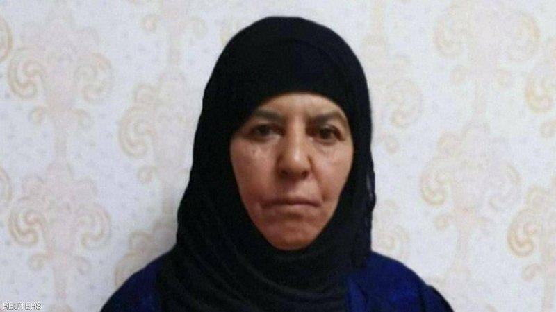 رويترز تنشر صوراً لشقيقة ابوبكر البغدادي وزوجها وزوجة ابنها بعد اعتقالهم ونقلهم إلى تركيا