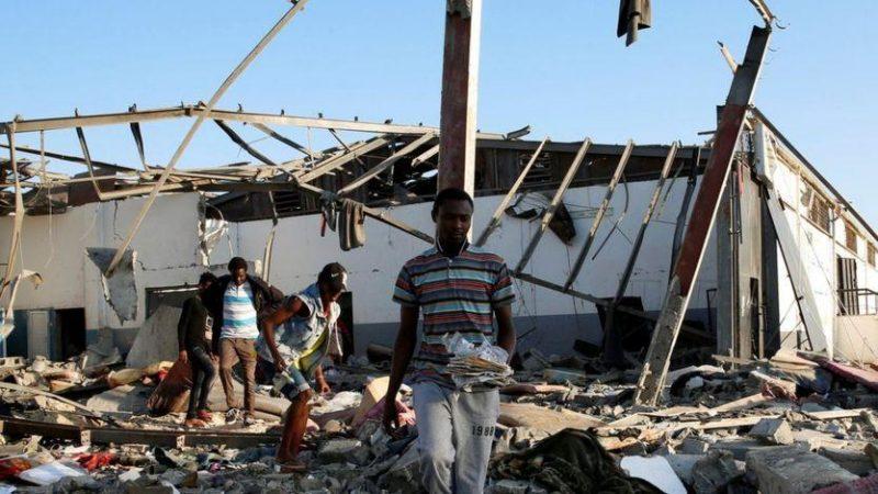 تحقيق أممي في قضية تورط الإمارات بقصف مركز لإحتجاز المهاجرين في ليبيا