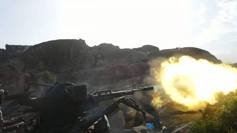 قوات الجيش تحبط محاولة تسلل لمليشيا الحوثي في محافظة الضالع