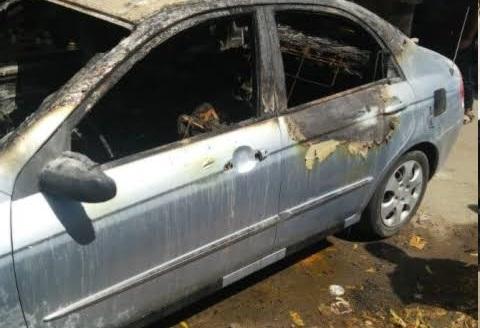 شاهد بالفيديو آخر ما قاله الشاب الذي قتلته مليشيات الإمارات واحرقت جثته داخل سيارته في عدن