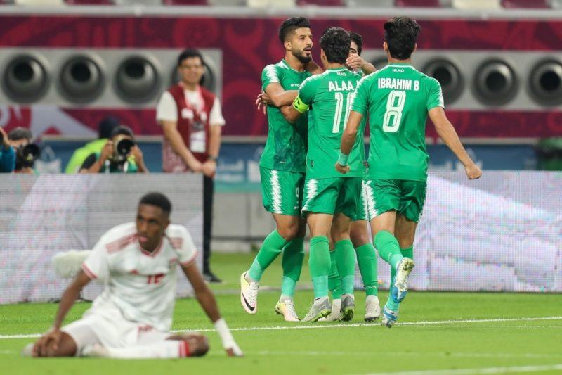بثنائية نظيفة.. العراق يكتسح الإمارات في كأس الخليج