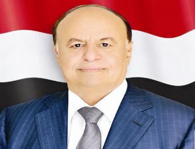 الرئيس هادي يعزي في استشهاد العميد عدنان الحمادي