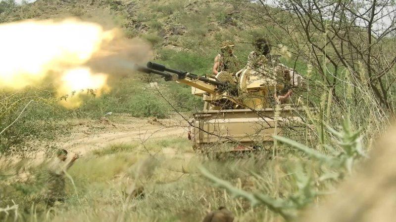 قوات الجيش الوطني تصد هجوم لمليشيا الحوثي في الحديدة