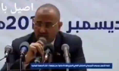 """الرحبي يرد على عيدروس الزبيدي: """"اتفاق الرياض"""" هو اتفاق داخلي بين حكومة ومتمردين"""