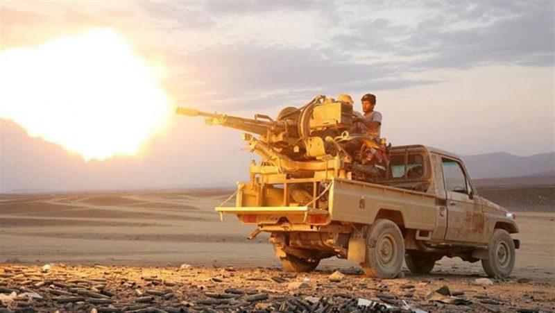 قوات الجيش الوطني تصد هجمات لمليشيا الحوثي الإرهابية غرب محافظة مأرب