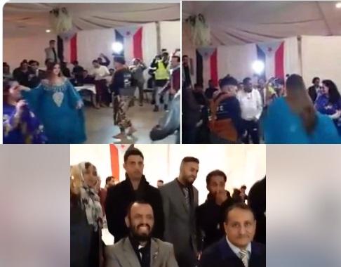 The Salafi Sheikh Bin Brik attends a shameless party in France