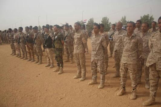 اللواء الثاني حماية رئاسية يدشن عامه التدريبي والقتالي 2020 من وسط العاصمة المؤقتة عدن