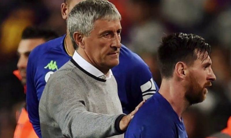 برشلونة يقرر مصير المدرب كيكي سيتين في الموسم القادم