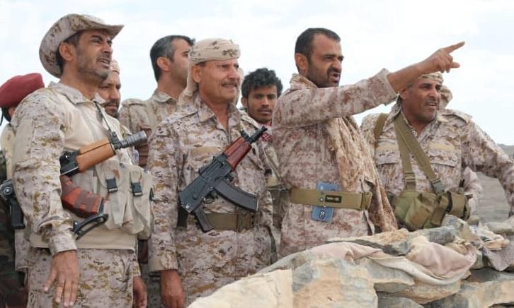 """قائد القوات المشتركة """"صغير بن عزيز"""" يوجه رسالة هامة لقوات الجيش الوطني في نهم"""