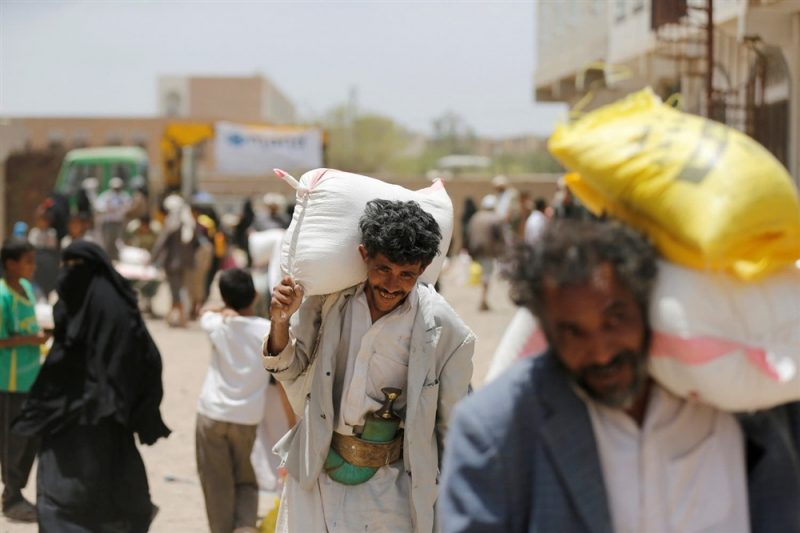 الأمم المتحدة تحذر من توقف المساعدات في اليمن خلال أسابيع