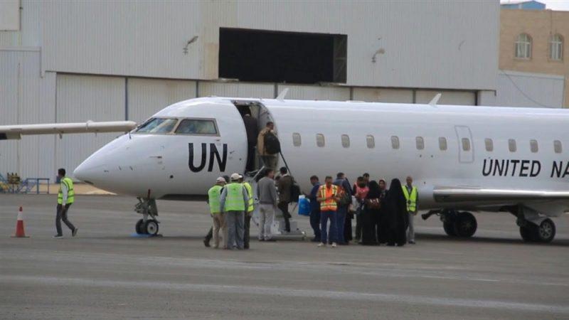 دفعة جديدة من المرضى تستعد طائرة أممية لنقلهم من صنعاء إلى عمان