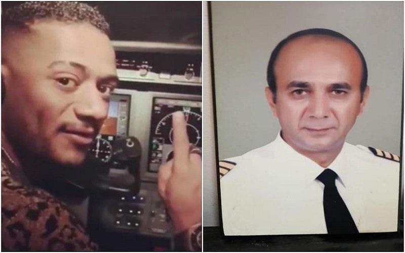 """بالفيديو.. تفاصيل وقصة طيار محمد رمضان """"الطيار الموقوف""""!"""