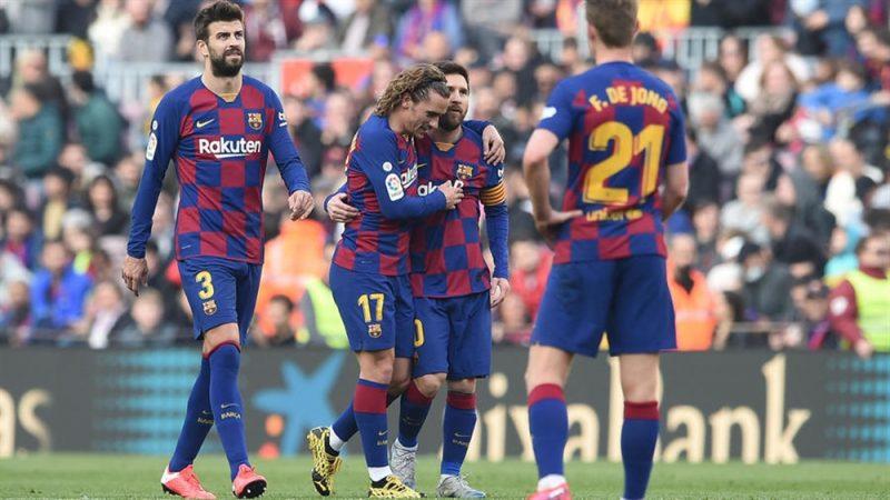 برشلونة يتصدر الليغا مؤقتا بعد تحقيق فوز صعب على خيتافي