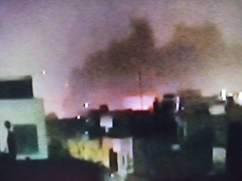هجوم صاروخي يستهدف مقر السفارة الامريكية في بغداد