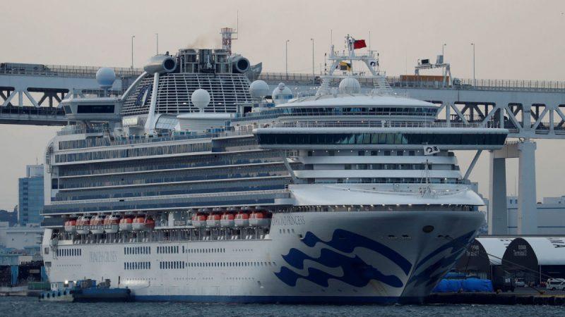 """79 إصابة جديدة بفيروس كورونا على متن """"دايموند برنسيس"""""""