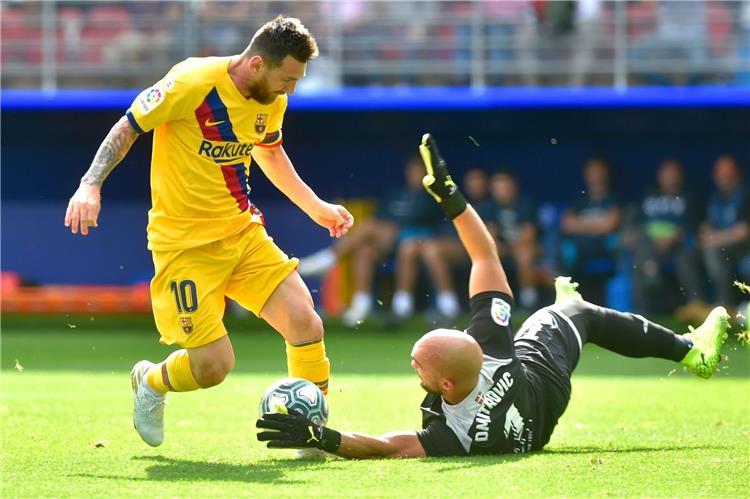تعرف على ارقام نجم برشلونة ليونيل ميسي ضد ايبار قبل مباراة الفريقين مساء اليوم