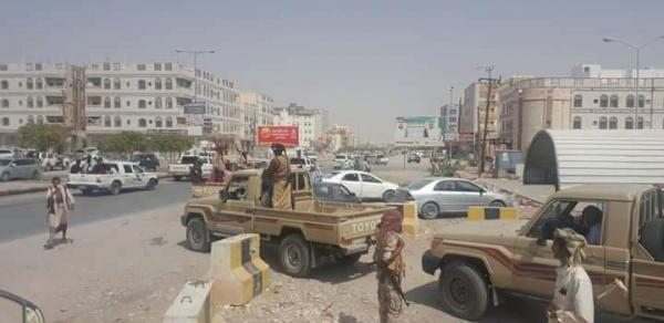 أمن شبوة يستعيد عدد من المباني الحكومية في نصاب