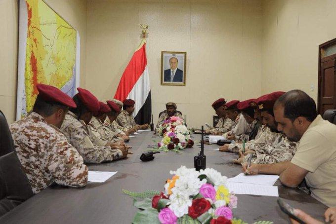 رئيس هيئة الاركان المعيّن يرأس اجتماعا لقيادة العمليات المشتركة لمناقشة سير العمليات القتالية