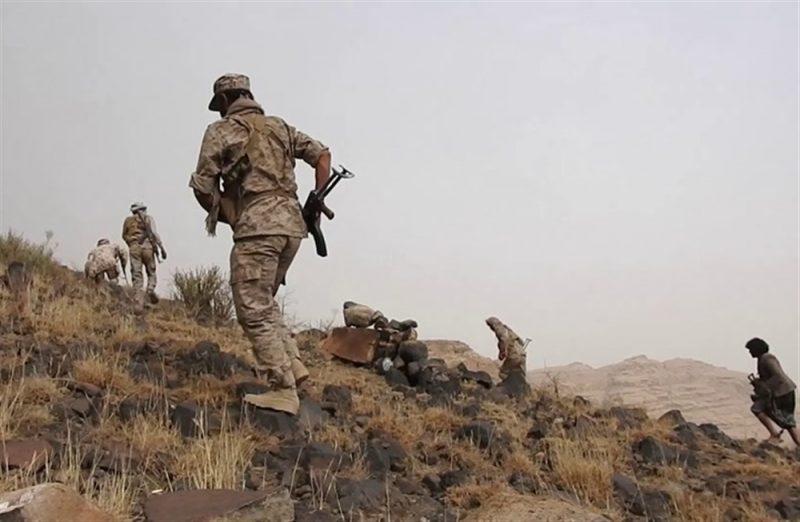 قوات الجيش تصد هجوما لمليشيا الحوثي شرق تعز وتكبدها خسائر فادحة