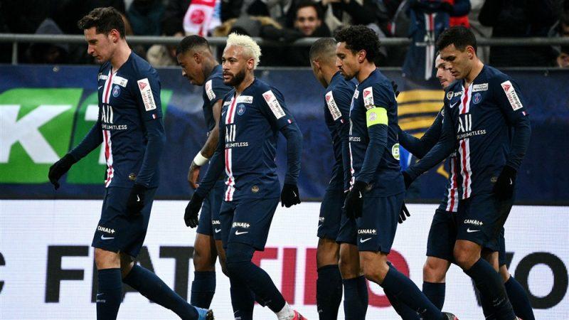 الرابطة الفرنسية تتوج سان جيرمانبطلاً للدوري الفرنسي بعد إعلان إنهاء الموسم