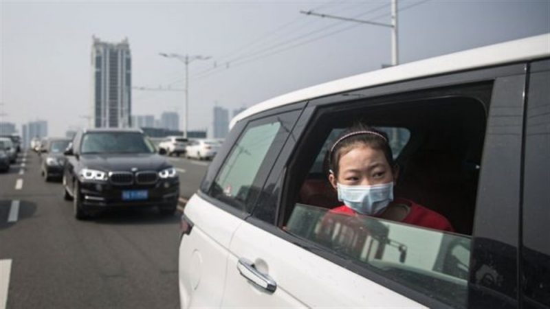 سيارات صينية مضادة للفيروسات