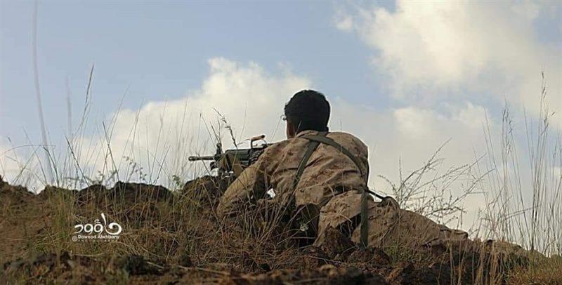 قوات الجيش تصد هجوم لمليشيا الحوثي شمال مدينة تعز