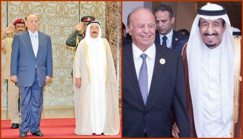 الملك السعودي وامير الكويت يهنئان الرئيس هادي بالذكرى الـ30 لقيام الوحدة اليمنية