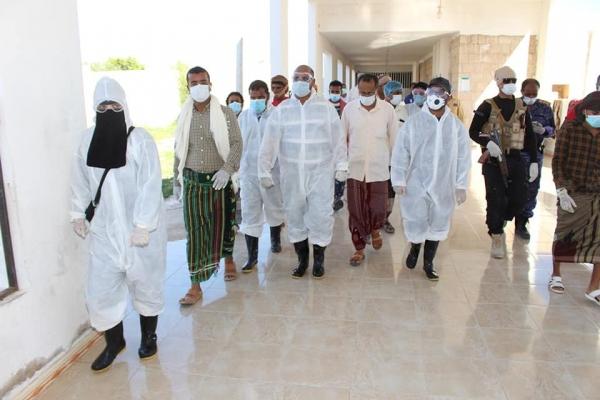 إغلاق مستشفى في حضرموت بعد الإشتباه بإصابة أحد العمال بفيروس كورونا