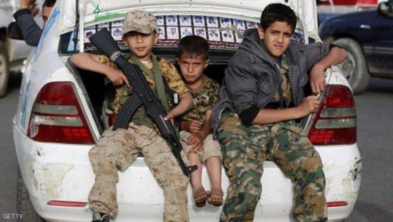 انتهاكات عدة بحق الأطفال… الحوثيون يجندون نصف مليون طفل خلال عام