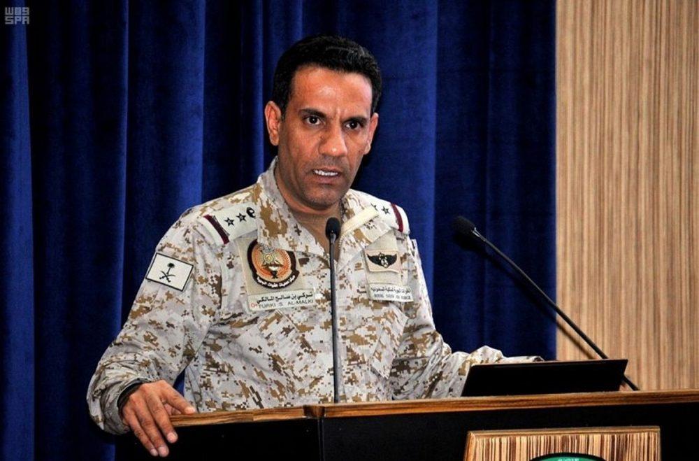 ناطق التحالف العربي يكشف عدد الطائرات والصواريخ التي اعترضتها  دفاعاته مؤخرا