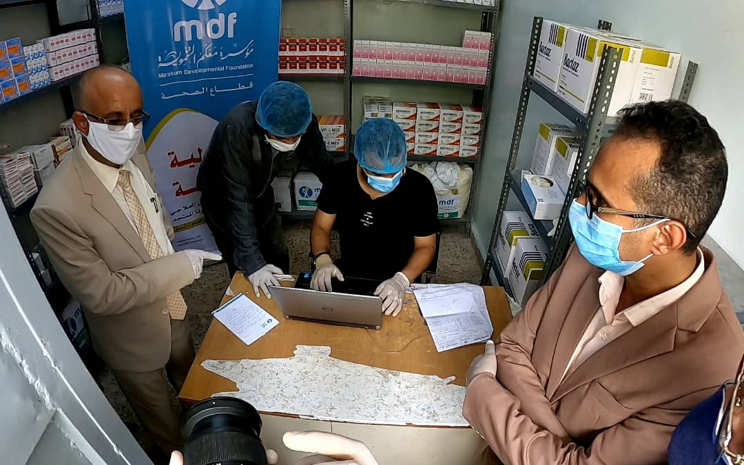منظمة محلية تتكفل بعلاج وفحوصات مرضى فيروس كورونا في تعز