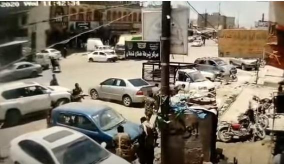شاهد بالفيديو.. اشباكات بين الحوثيين وسط صنعاء تسفر عن مقتل القيادي المشرف ابو ايوب