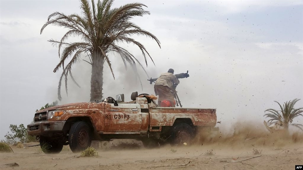 مصرع وإصابة عدد من عناصر مليشيا الحوثي بنيران القوات المشتركة في الحديدة
