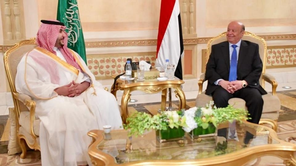 Sources: President Hadi and Saudi prince Khalid bin Salman reaches a deal
