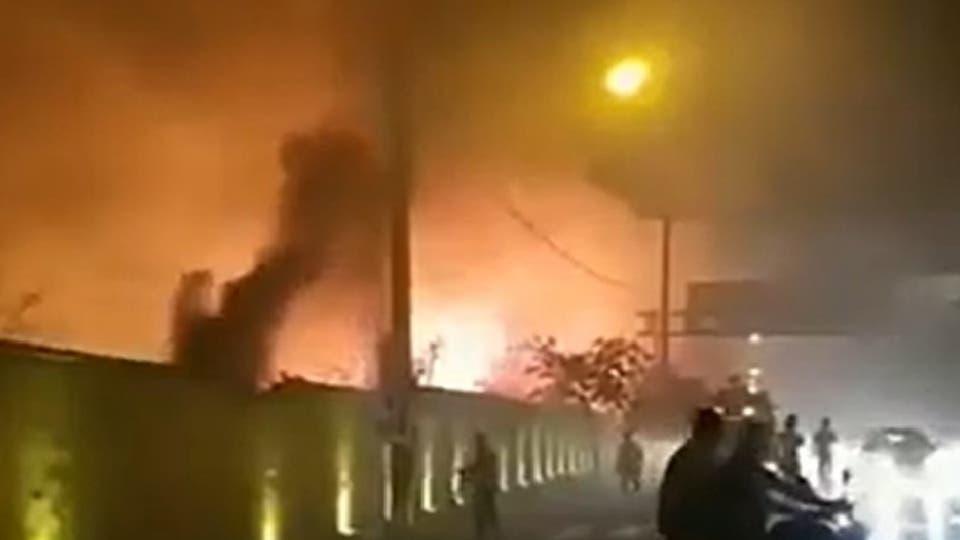 إيران.. انفجارات عنيفة تهز مدينة مشهد فجر اليوم