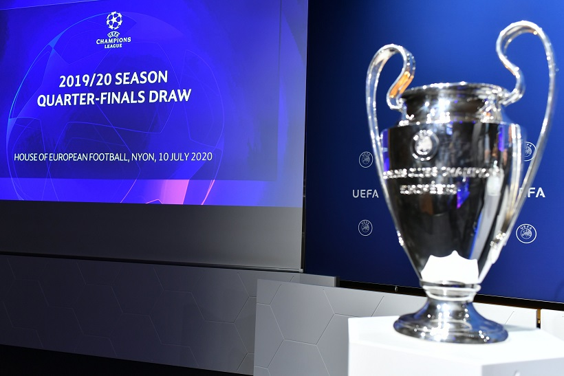 نتائج قرعة ربع نهائي دوري ابطال اوروبا وقرار بنقل كافة مباريات البطولة إلى العاصمة البرتغالية لشبونة