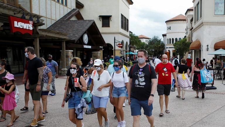 بلغت نحو 15300 حالة جديدة… ولاية فلوريدا الأمريكية تسجل ارتفاعا قياسيا للإصابات بفيروس كورونا