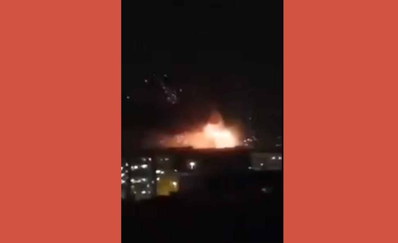 تفاصيل الإنفجارات التي هزت شمال إيران الليلة مستهدفة منشأة عسكرية خطيرة