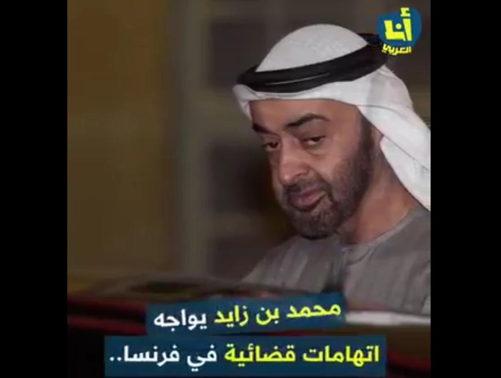 اخيراً.. القضاء الفرنسي يحقق في جرائم بن زايد في اليمن