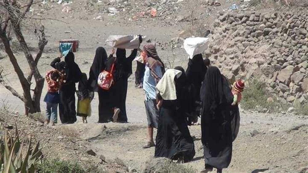 منظمة دولية تعلن نزوح أكثر من 166 ألف يمني في أقل من عام