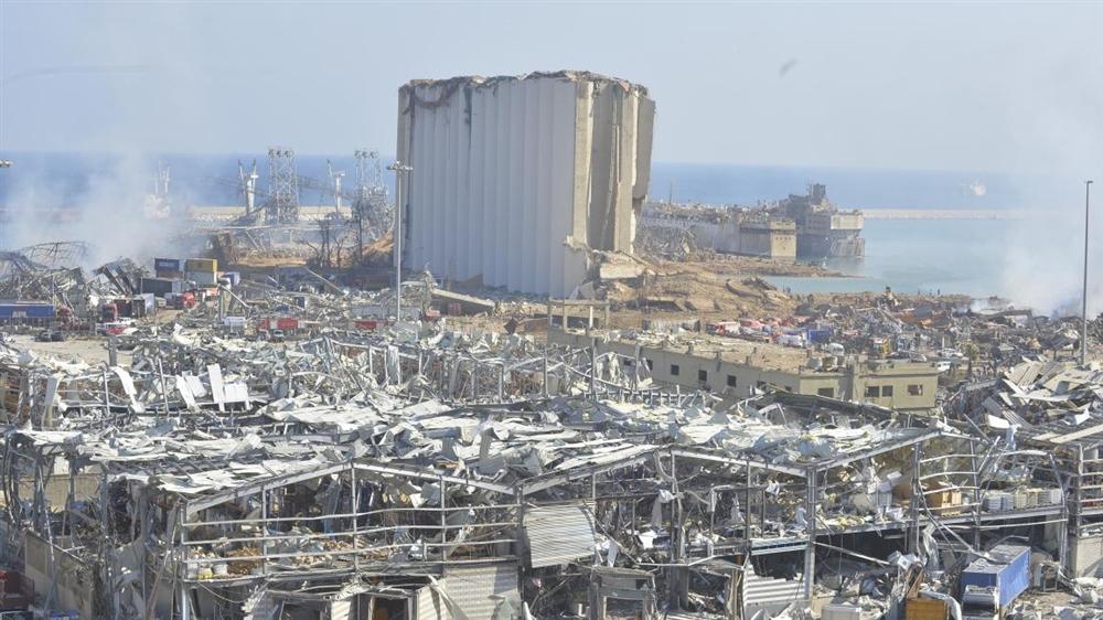 لبنان ترسل مواد كيميائية إلى ألمانيا لتدميرها
