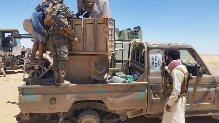 الجيش الوطني يحرر عدة مواقع في الجوف ويقترب من استعادة مدينة الحزم