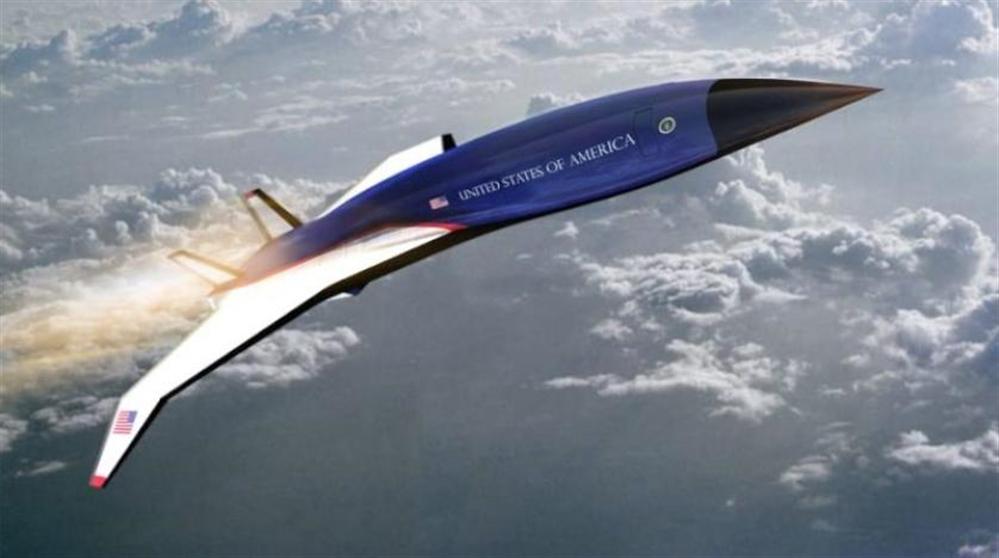 الكشف عن طائرة أسرع من الصوت بخمس مرات