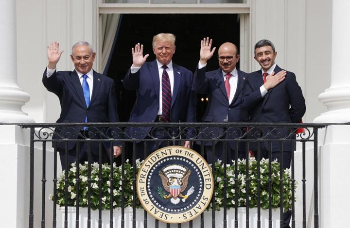 التطبيع مع اسرائيل إعلان حرب على الشعب الفلسطيني.. غضب فلسطيني بعد توقيع الإمارات والبحرين اتفاق التطبيع