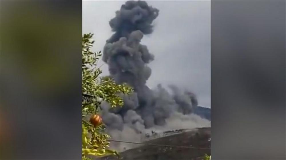 إنفجار مستودع للأسلحة في لبنان ووقوع إصابات