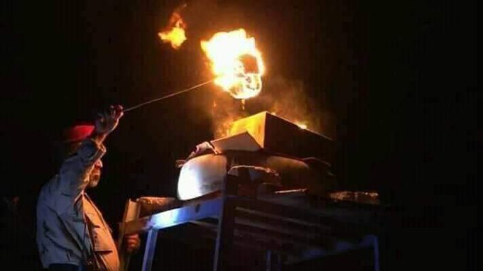 ابين توقد شعلة العيد الـ58 لثورة 26 سبتمبر