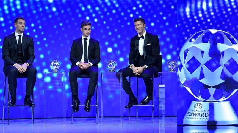 إتحاد كرة القدم الأوروبي يكشفعن قائمة الفائزين بجوائز الافضل لموسم 2020