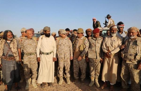 """وزير الدفاع """"المقدشي"""" : ماضون نحو انهاء الانقلاب واستعادة الدولة"""