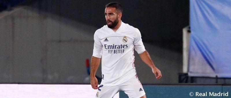 """بعد إصابة ظهيره الأيمن """"داني كارفاخال"""".. ريال مدريدي يتلقى ضربة موجعة قبل مواجهة """"الكلاسيكو"""""""