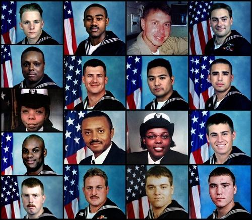 تقرير أمريكي يستذكر الهجوم على المدمرة كول في اليمن: البحارة الأمريكيون سبحوا في بحر من الدم!